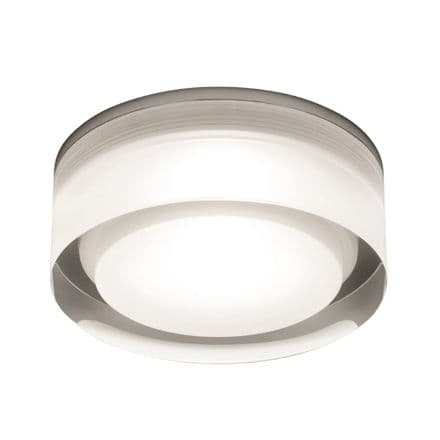 Astro 1229013 Vancouver Square 90 LED Recessed Spot Light Clear Acrylic